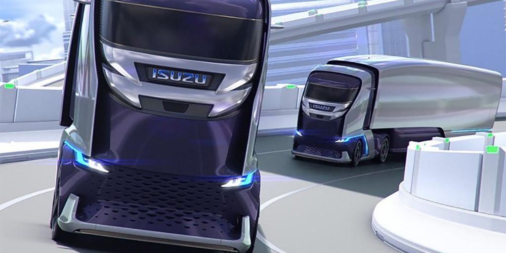 Isuzu представила новый фургон FLIR